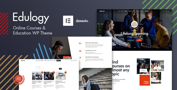 Download Edulogy - E-learning and Courses Theme
