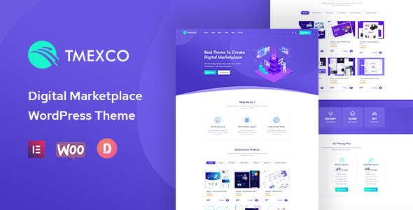 Download Tmexco - Digital Marketplace WooCommerce Theme