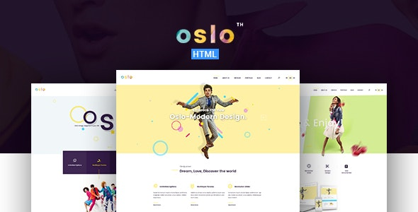 Oslo – Creative Agency Portfolio HTML5 Template - Business Corporate