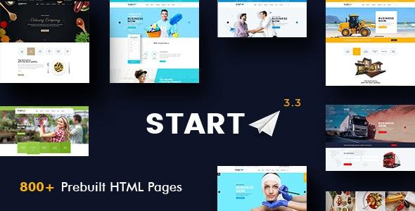 Start - Basic Business HTML5 & CSS3 Template - Business Corporate