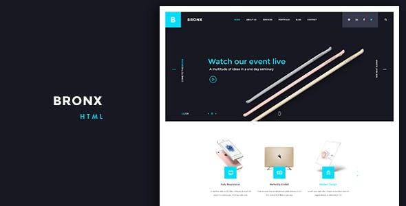 Bronx - Multipurpose Business and Agency HTML5 Template