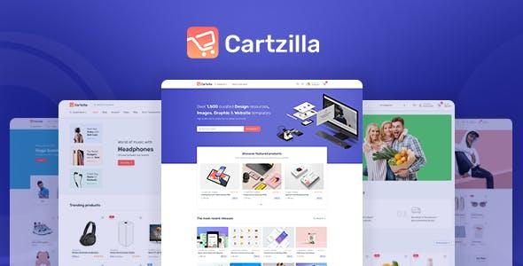 Download Cartzilla - Digital Marketplace & Grocery Store WordPress Theme