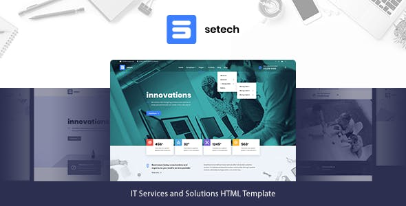 Setech - IT Services and Solutions HTML Template