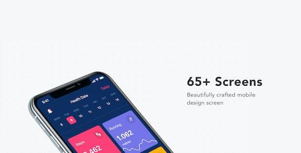 CASER - Mobile UI Kit for Adobe XD