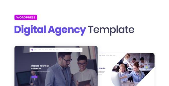 Elipso – Digital Agency Elementor Template Kit