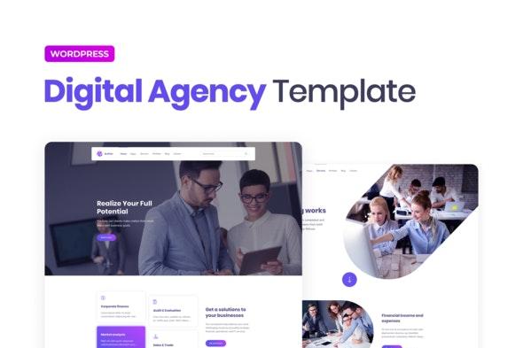 Elipso – Digital Agency Elementor Template Kit - Business & Services Elementor