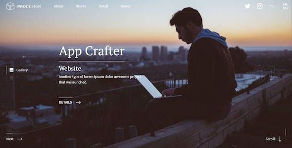 Smoothux - Creative Portfolio Website Template