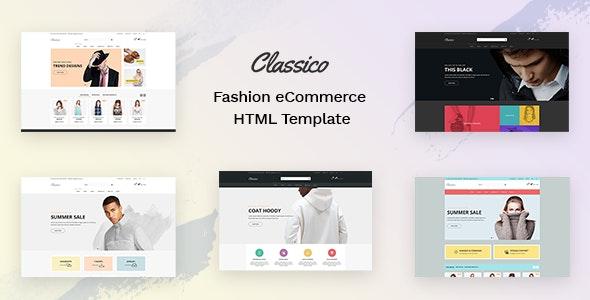 Classico - Fashion eCommerce HTML Template - Fashion Retail