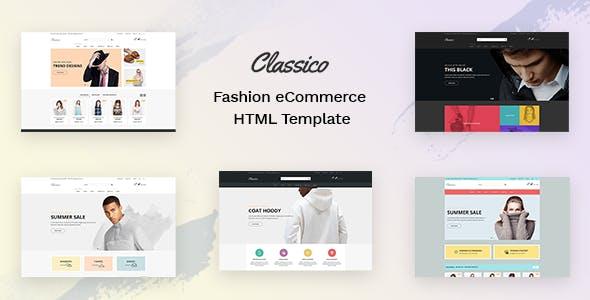 Classico - Fashion eCommerce HTML Template