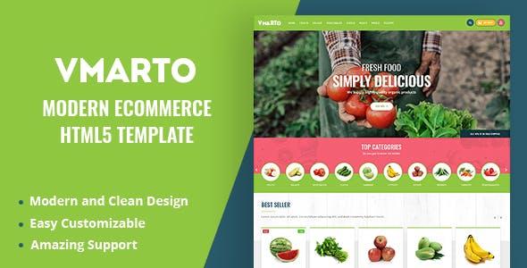 Vmarto - Responsive Ecommerce HTML5 Template