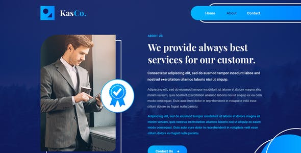 KasCo - Coming Soon PSD Template