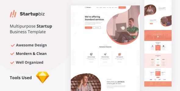 Startupbiz - Multipurpose Startup Business Template - Business Corporate
