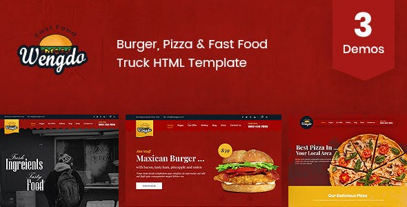 Download Wengdo - Fast Food HTML Template