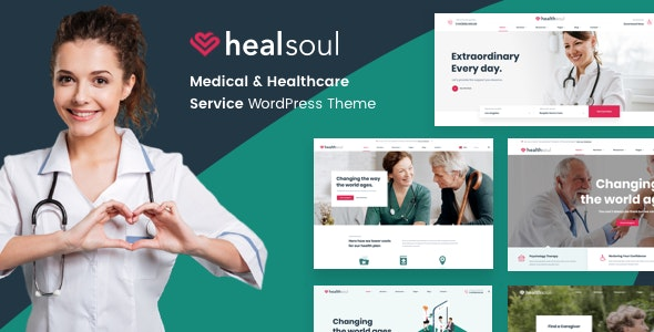 Medical Care, Home Healthcare Service WP Theme - Healsoul - Health & Beauty Retail