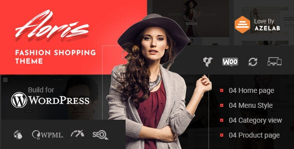 Floris — Fashion Shopping WordPress Theme - WooCommerce eCommerce