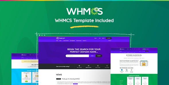 HostSite - Hosting and Technology HTML + WHMCS Template