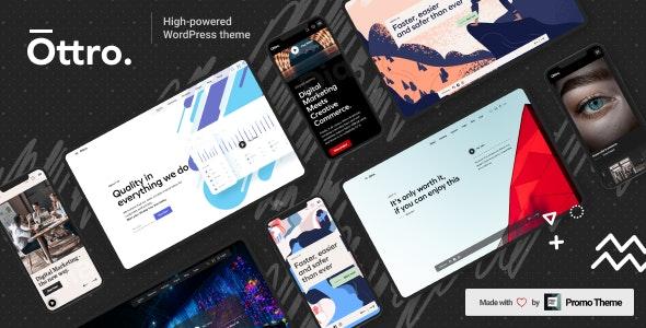 Ottro - Portfolio & MultiPurpose WordPress - Portfolio Creative