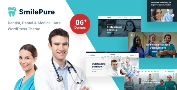 SmilePure - Dental & Medical Care WordPress Theme