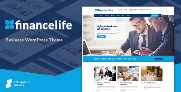 FinanceLife - Business WordPress Theme - Business Corporate