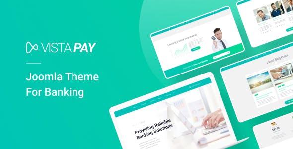 Download VistaPay - Bank Multipage Joomla Theme