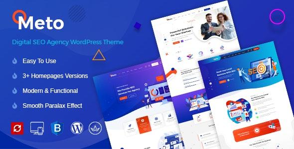 Meto | SEO & Marketing WordPress Theme - Marketing Corporate