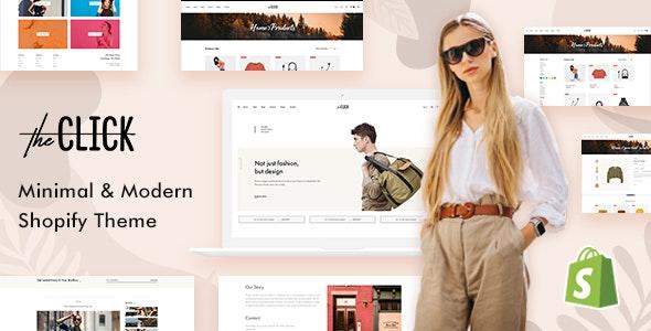 TheClick - Multipurpose Shopify Theme - Fashion Shopify
