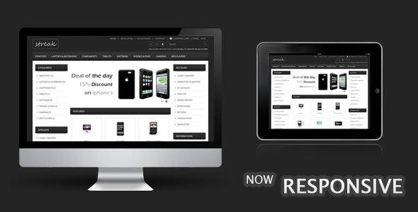 Streak Responsive OpenCart Theme - OpenCart eCommerce