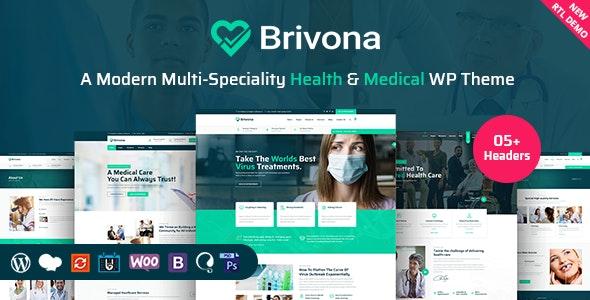 Brivona Theme Preview