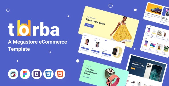 Torba PrestaShop Theme - Wholesale Website Design for Marketplace and Retail - Shopping PrestaShop