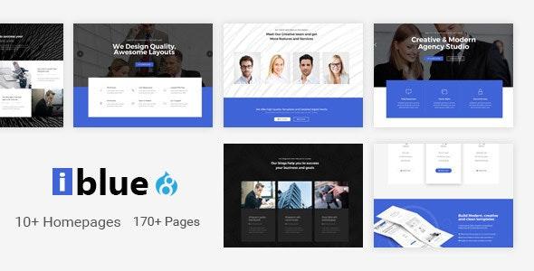 iblue - Responsive Multi-Purpose Drupal 8 Theme - Corporate Drupal