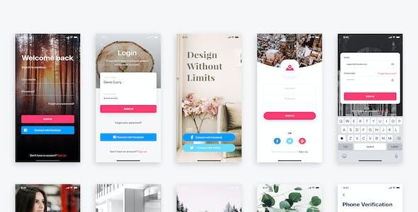 PRISMA - Mobile UI Kit for Adobe XD