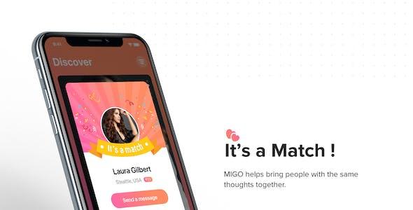 MIGO mobile UI Kit for Adobe XD