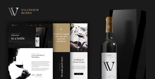 Villenoir - Wine Template Kit