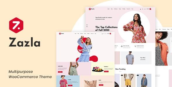 Zazla - Modern & Minimal WooCommerce Theme - WooCommerce eCommerce