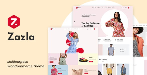 Download Zazla - Modern & Minimal WooCommerce Theme