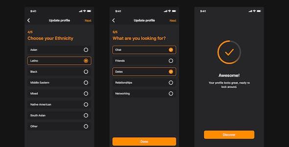 Manhunt Mobile UI Kit for Figma