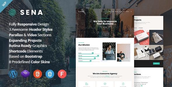 Sena - Creative MultiPurpose WordPress Theme - Creative WordPress