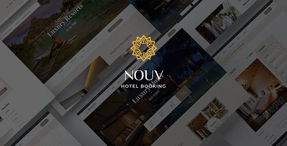 Download Nouv - Hotel Booking WordPress Theme