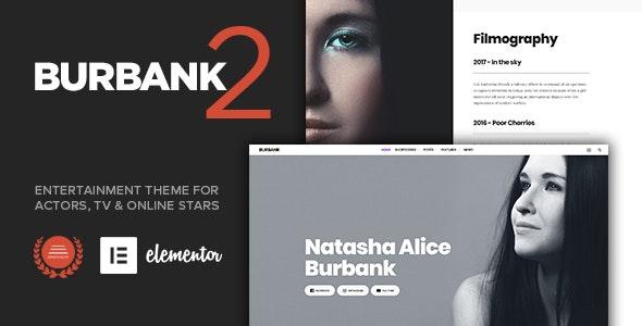 Burbank - Entertainment Theme for Actors & Stars - Film & TV Entertainment