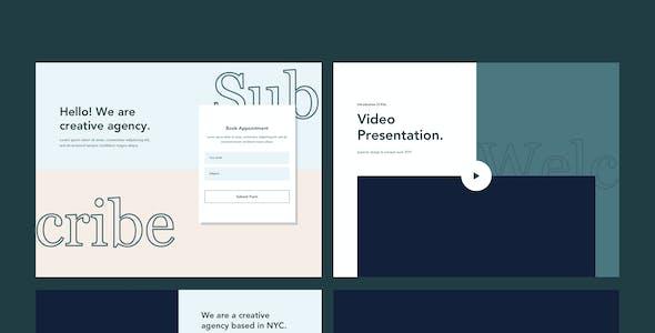 Bonenkai - Creative Block UI Kits Website