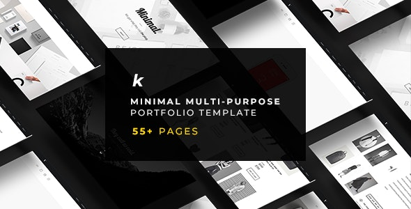 KHONG - Minimal Multi-Purpose Portfolio Template - Portfolio Creative