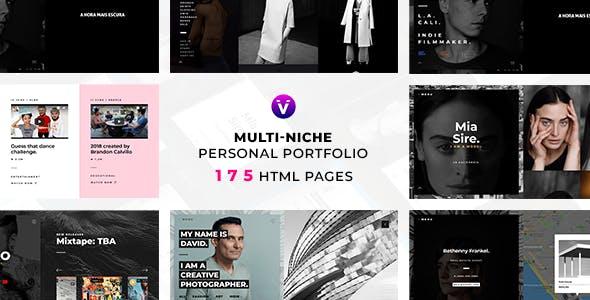 VALO — Multi-Niche Personal Portfolio