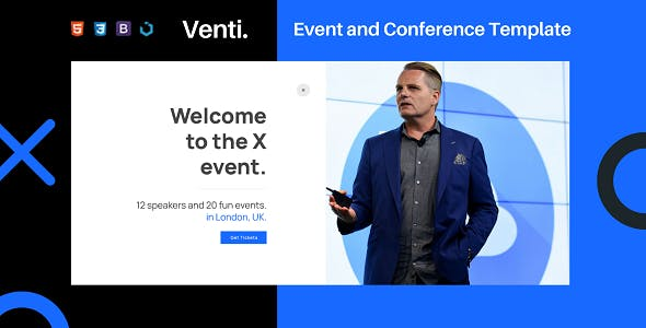 Download Venti — Event and Conference Template