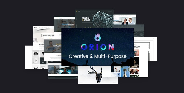 Orion - Creative Multi-Purpose WordPress Theme - Creative WordPress