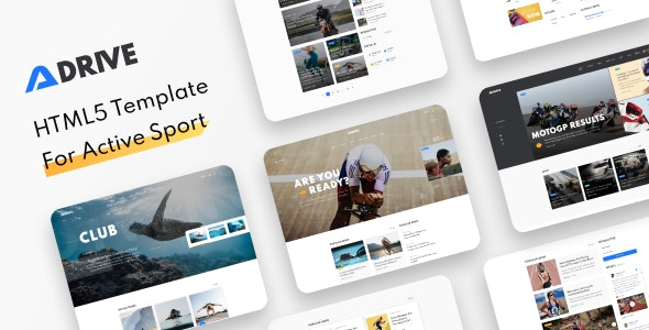 Adrive - A Running Club and Sports Website Theme, Sports Blog - Health & Beauty Retail
