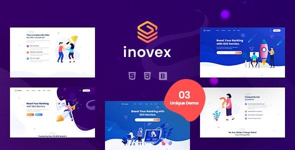 Inovex - SEO & Marketing Agency HTML Template - Marketing Corporate