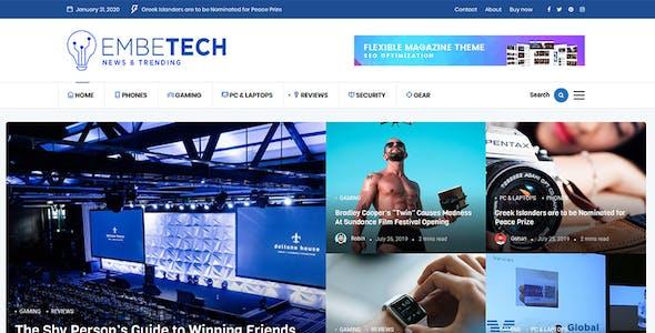 EmBe - Flexible Magazine WordPress Theme