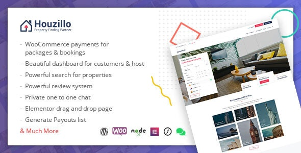 Houzillo Bookings And Rental Wordpress Theme By Amentotech Themeforest