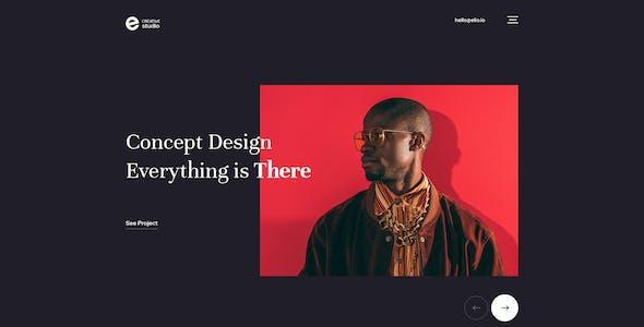 Elio - Creative Portfolio PSD Template
