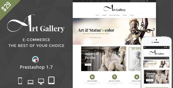 Art Gallery - Prestashop Theme - Miscellaneous PrestaShop